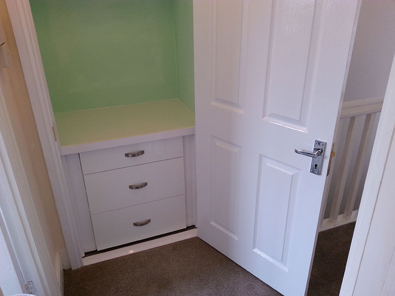 storage solution for airing cupboard