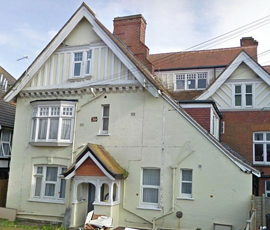 3, Argylle Road Boscombe before renovation